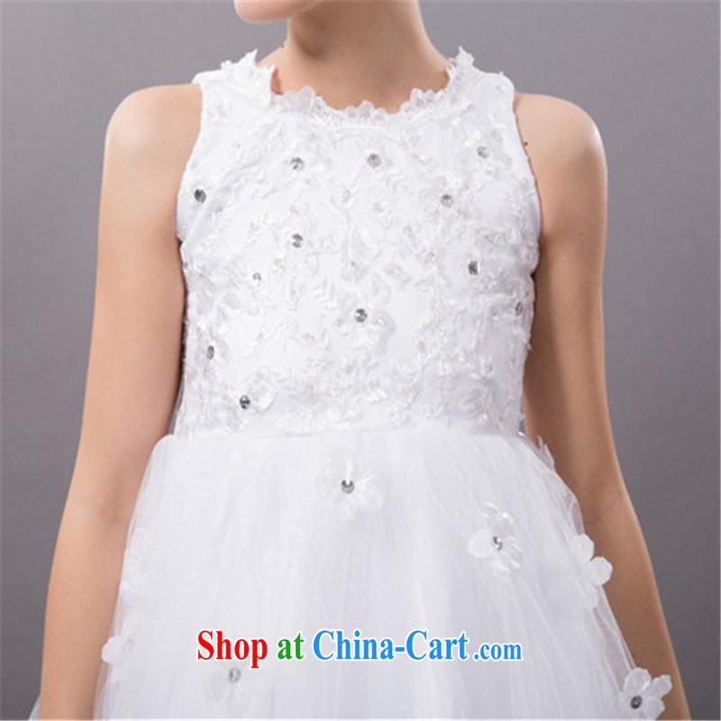 Han Park Cchiness 2017 Spring New Small Dress Bridesmaid Short Princess Gy Evening Wedding Show White L