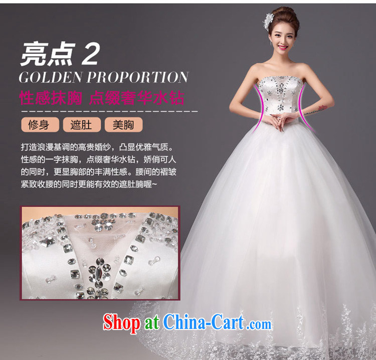 Summer 2015 New Products New Wedding Fashion erase chest tail bridal wedding dresses beauty graphics thin white tie, white XXL pictures, price, brand platters! Elections are good character, the national distribution, so why buy now enjoy more preferential! Health