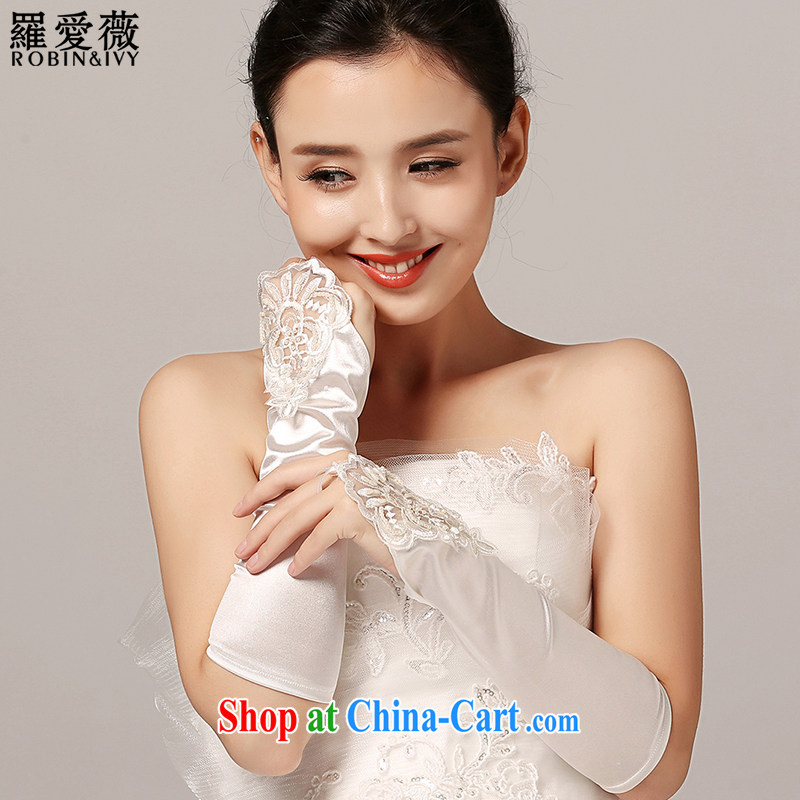 Paul love Ms Audrey EU Yuet-mee, RobinIvy) wedding dresses and accessories gloves S 10,017 white