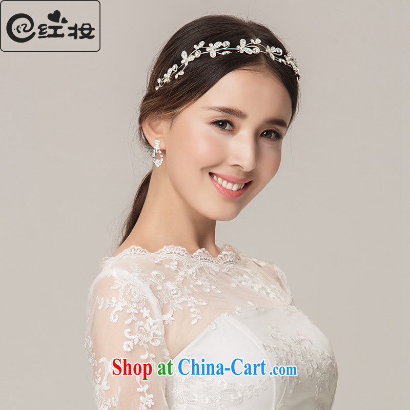 Recall that the red makeup Korean bridal tiaras wedding dresses dresses jewelry accessories accessories wedding accessories set P 13,013 white