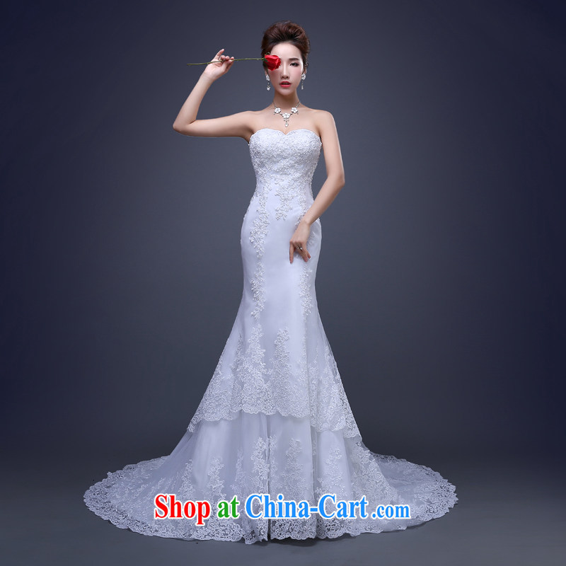 Cheng Kejie MIA new wedding dresses 2015 spring and summer tail dress dragging bridal white XXL