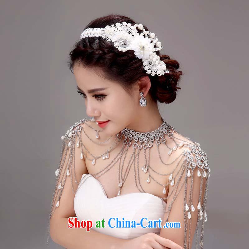 Honeymoon bridal bridal shoulder link Korean-style wedding jewelry Wedding Fashion Accessories wedding jewelry white, Honeymoon bridal, shopping on the Internet