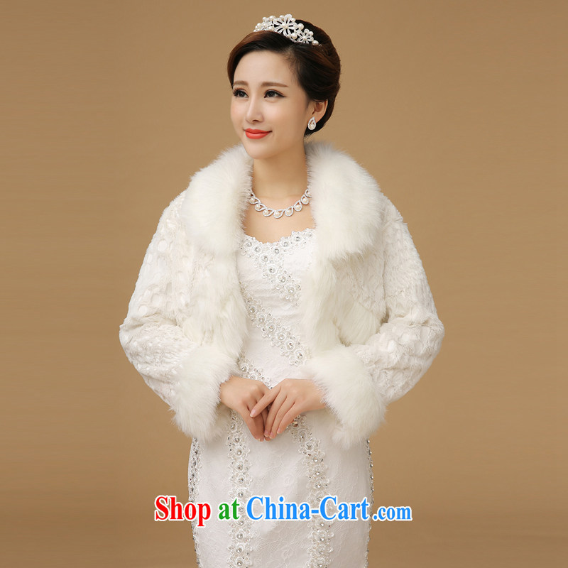 Bridal wedding shawl white are code