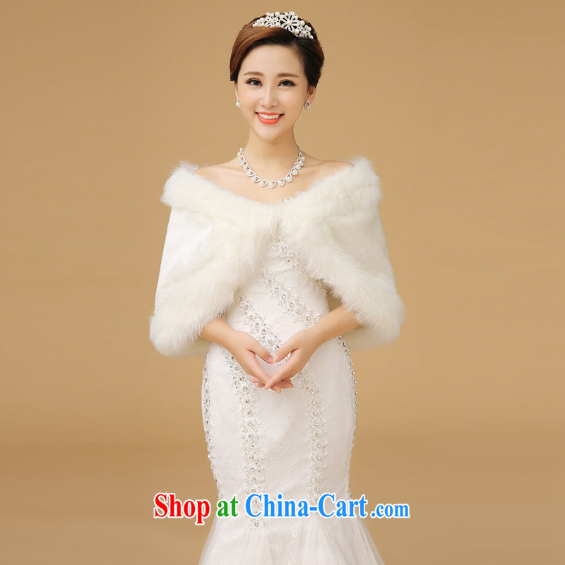 Bridal shawl white are code