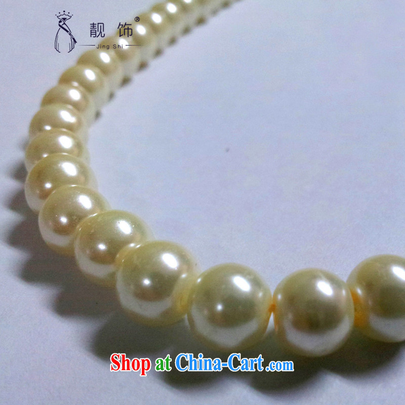 wedding jewelry bridal accessories short a pearl necklace wedding dresses accessories accessories white, beautiful ornaments JinGSHi), shopping on the Internet