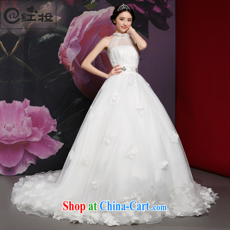 Recall that the red makeup wedding tail-also-dress new 2015 spring elegant bridal lace new H 14,728 white XL
