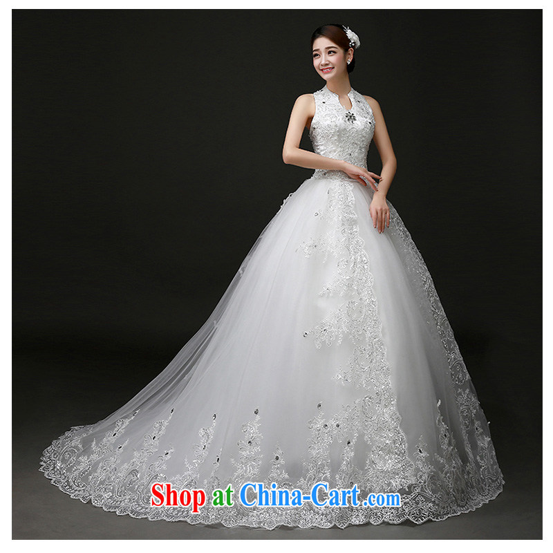 The beautiful yarn is also tail wedding new 2015 only the US tail wedding dress video thin Korean fashion beauty tied with manufacturers and direct white customizable