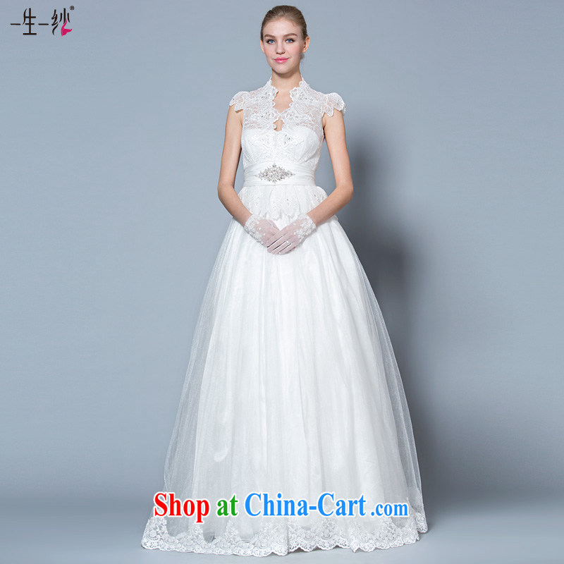 A yarn shaggy skirts bridal suite 2015 new, Retro, for wedding high waist bubble cuff the code with wedding 30140950 white XL code 165 _92 A
