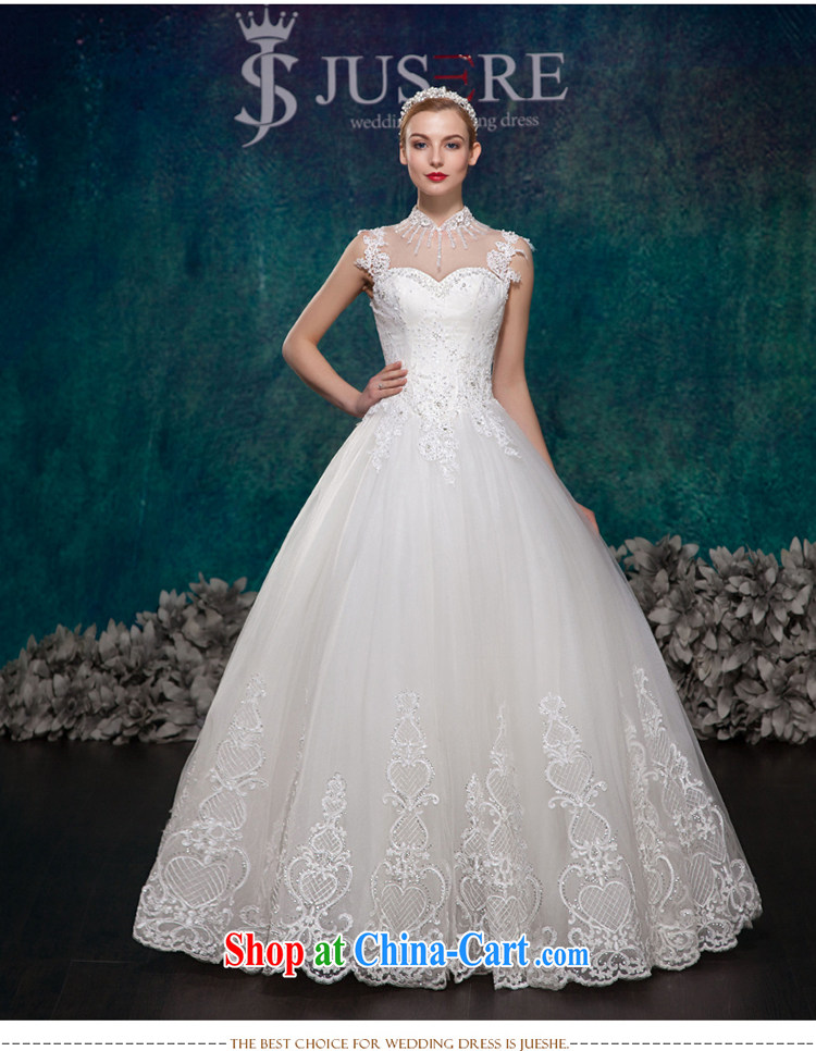 It is the JUSERE high-end wedding dresses spring 2015 double-shoulder wedding dresses, Japan, and South Korea wedding bridal wedding dress with wedding white tailored pictures, price, brand platters! Elections are good character, the national distribution, so why buy now enjoy more preferential! Health