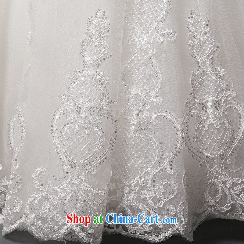 It is not the JUSERE high-end wedding dresses spring 2015 double-shoulder wedding dresses, Japan, and South Korea wedding dresses bridal wedding dress with wedding white tailored, by no means, and shopping on the Internet