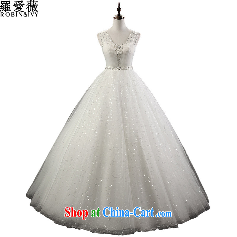 Love, Ms Audrey EU Yuet-mee, RobinIvy), Japan, and the ROK wedding dresses 2015 spring and summer new shoulders diamond tail marriages H 34,517 white advanced customization (25 Day Shipping)