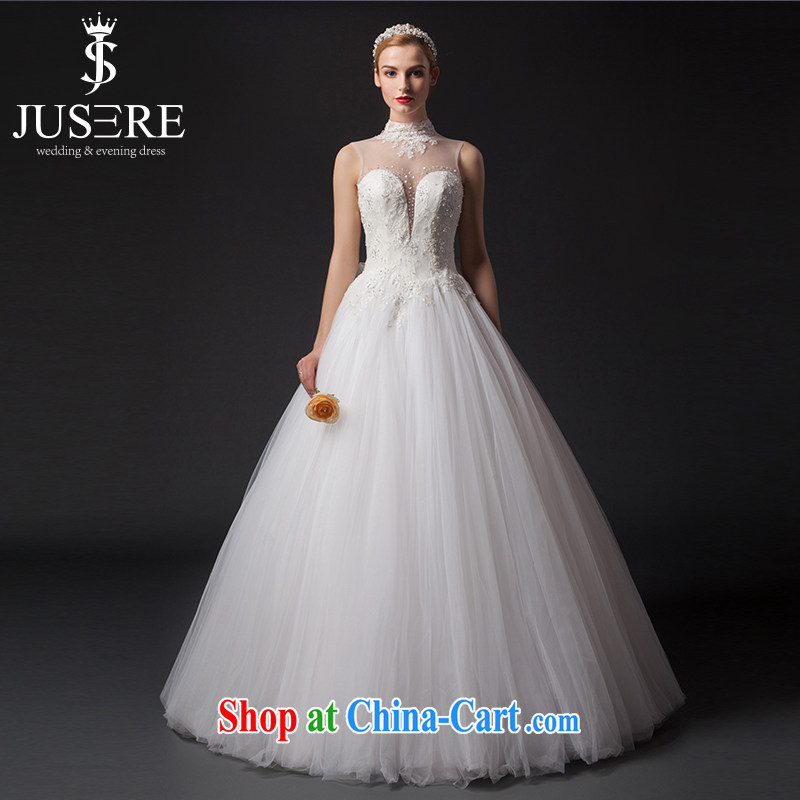 It is the JUSERE high-end wedding dresses 2015 new languages empty wipe chest Chinese wedding marriages with white dresses tailored
