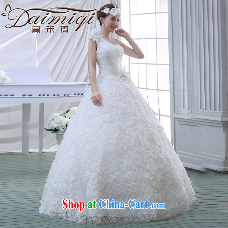 wedding dresses 2015 new Korean bridal lace the code with marriage spring evening dress small trailing white M