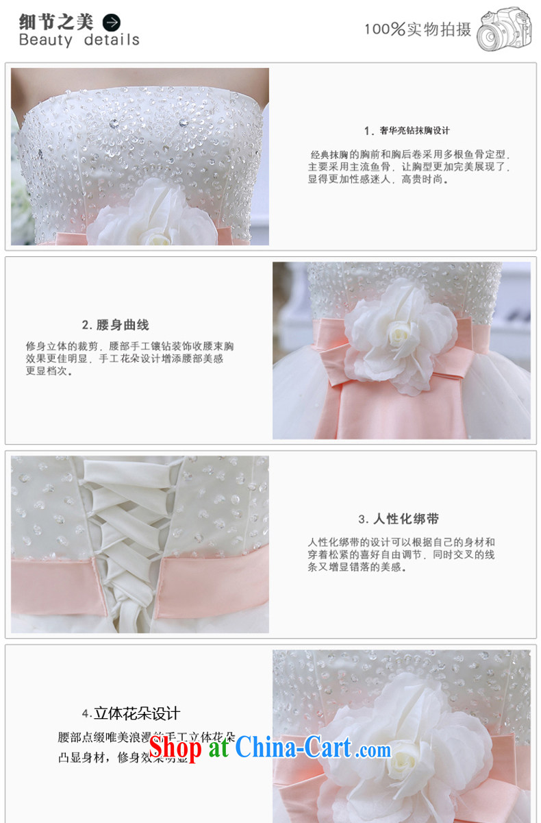 New 2015 spring video thin with wedding dresses retro lace bare chest strap V spring white wedding white M pictures, price, brand platters! Elections are good character, the national distribution, so why buy now enjoy more preferential! Health