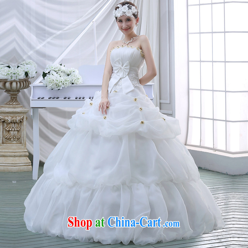 New 2015 wedding dresses spring and summer Korean fashion lace wiped ...