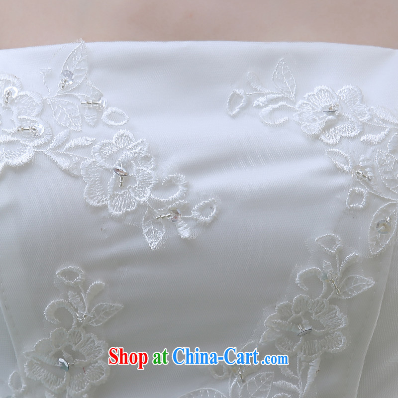 bare chest small tail wedding dresses new 2015 bridal simple Korean A field dress crowsfoot lace beauty with white M pictures, price, brand platters! Elections are good character, the national distribution, so why buy now enjoy more preferential! Health