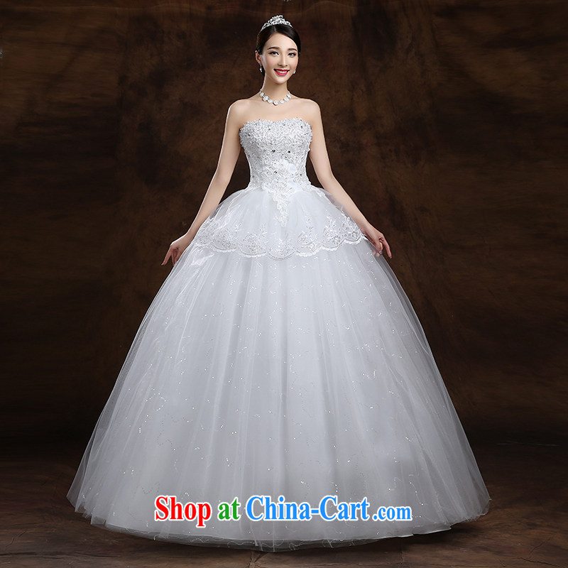 White first about new dresses, spring 2015 Korean bridal white Mary Magdalene Beauty Chest with white tailored contact Customer Service