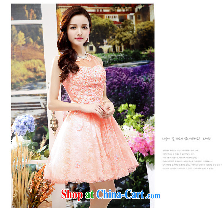 2015 new Korean Beauty Fashion Round collar sleeveless shaggy dress skirt 4 season long wedding dress dresses red M pictures, price, brand platters! Elections are good character, the national distribution, so why buy now enjoy more preferential! Health