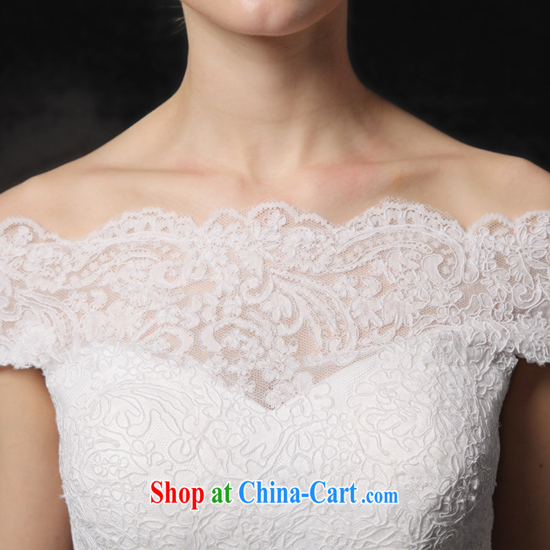 It is not the JUSERE wedding dresses the Field shoulder small trailing white 4, it is not set, shopping on the Internet