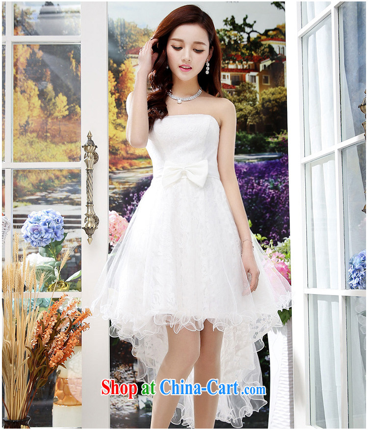 2015 summer edition Korea beauty plastic stylish lace bare chest, long, Shaggy wedding dresses skirt white M pictures, price, brand platters! Elections are good character, the national distribution, so why buy now enjoy more preferential! Health