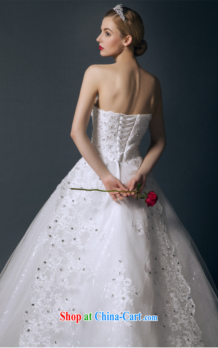 It is not the JUSERE high-end wedding dresses spring 2015 erase chest wedding dresses, Japan, and South Korea wedding bridal wedding dress luxurious tail wedding white tailored pictures, price, brand platters! Elections are good character, the national distribution, so why buy now enjoy more preferential! Health