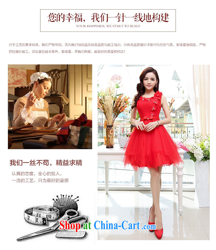 Arrogant season summer 2015 new Korean women waist-cultivating noble magnificent round-neck collar shaggy dress dress dress red S pictures, price, brand platters! Elections are good character, the national distribution, so why buy now enjoy more preferential! Health