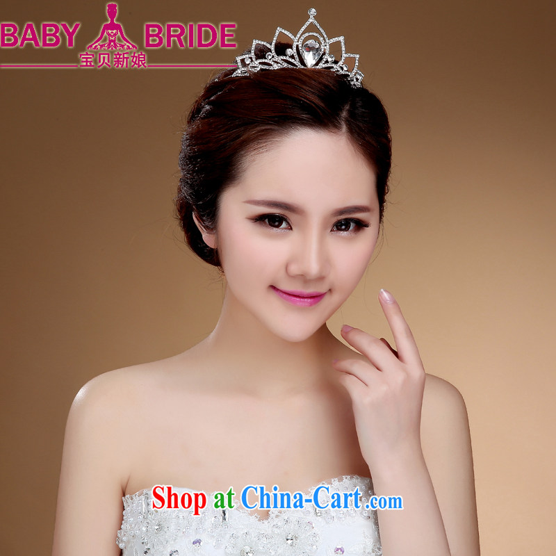 Bridal headdress bridal accessories bridal jewelry and ornaments wedding Crown white