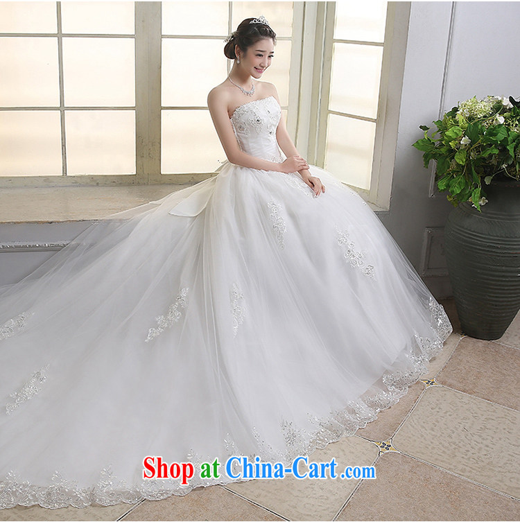 Dream of the day wedding dresses lace bare chest, Japan, and South Korea with 2015 new tail wedding dress tail, S pictures, price, brand platters! Elections are good character, the national distribution, so why buy now enjoy more preferential! Health