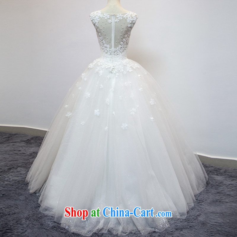 The color is still Windsor bridal wedding dresses Korean-style shoulder bag 2015 new stylish with graphics thin lace retro large code shoulders spring and summer white XXL, the color is still Windsor, shopping on the Internet