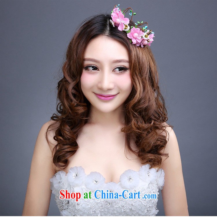 Tslyzm bridal wedding dresses garlands and ornaments 2015 new spring and summer bridesmaid flowers decorated resort beach only American artist jewelry pink pictures, price, brand platters! Elections are good character, the national distribution, so why buy now enjoy more preferential! Health