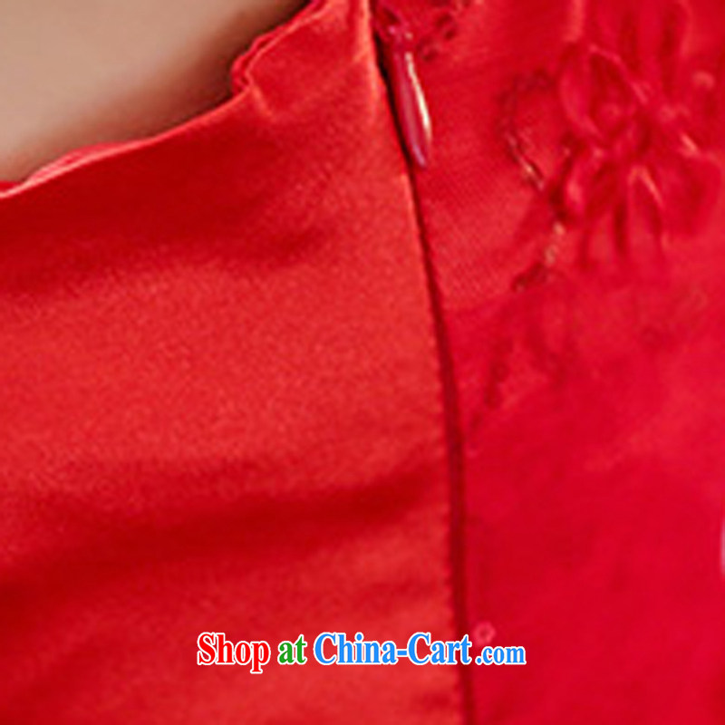The Shannon Gore, 2015 new marriage bridal toast service bridal dresses cheongsam dress marriage red back door service red XXXL, Hong Kong Gore (XGN), and, on-line shopping