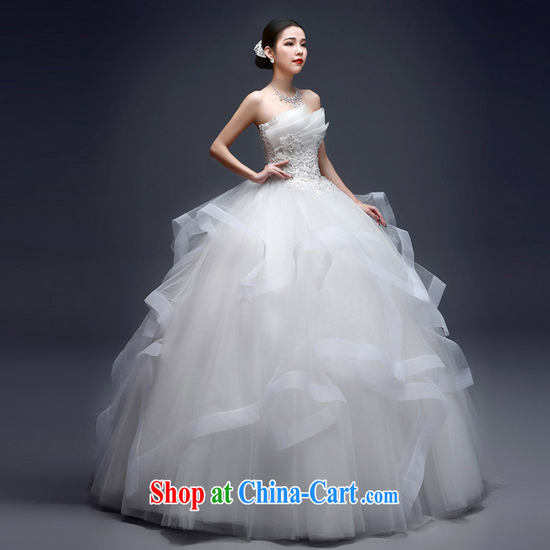 Kou Connie red wedding dresses 2015 spring and summer wiped his chest-won the waist graphics thin with simple marriages shaggy dress women fashion new summer buds with red white tailored final 7 day
