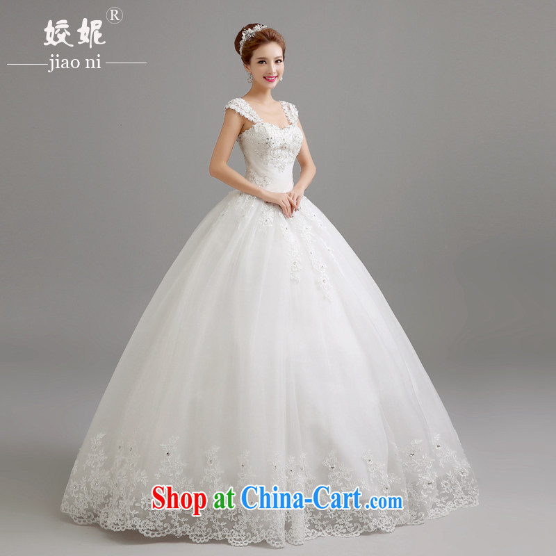 Kou Connie wedding dresses new 2015 spring shoulders with wedding chest bare a shoulder wedding Korean-style only the US with graphics thin shaggy dress Princess white聽tailored final 7 day