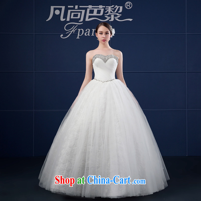 wedding dresses spring 2015 new Korean version the code wiped his chest, bride, custom vera wang wedding dresses summer white XXL