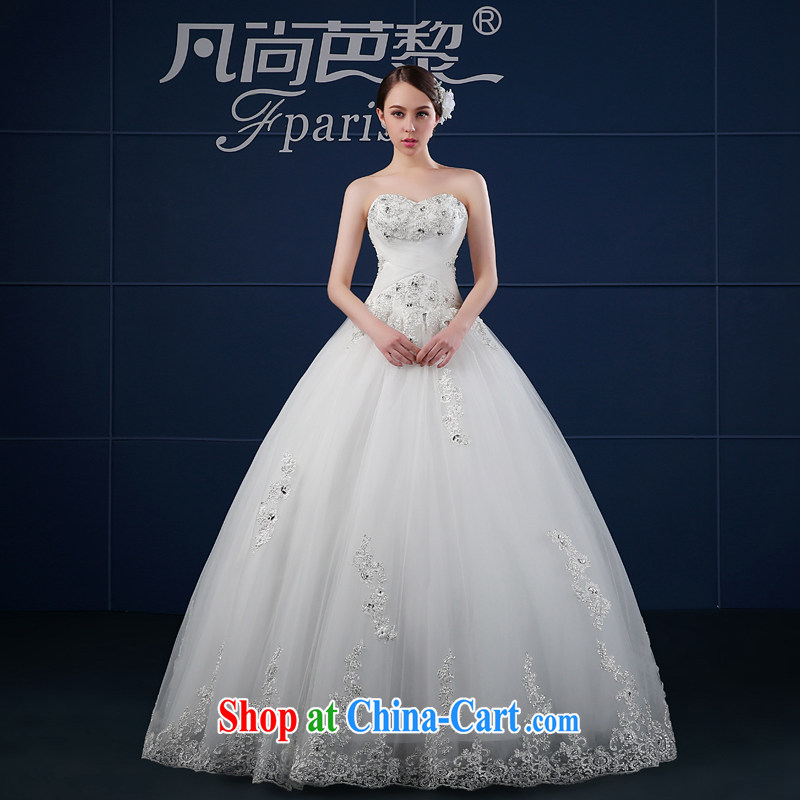 wedding dresses spring 2015 new wipe his chest, wedding Korean version the code custom beauty bridal wedding summer trailing white XXL