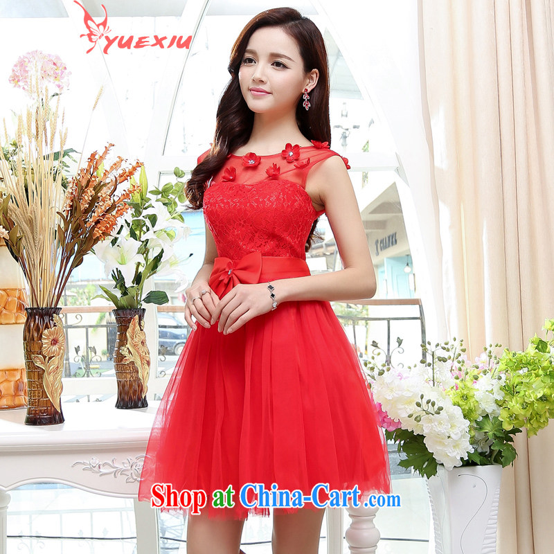 To show wedding dress 2015 new stylish brides with marriage toast HC serving 566 red XL