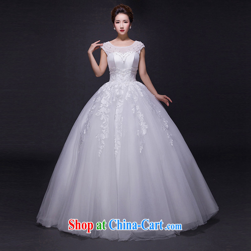 Hi Ka-hi wedding dresses 2015 new spring and summer and elegant and stylish dual-shoulder lace shaggy dress with alignment to tie wedding JX 14 ivory left size tailored