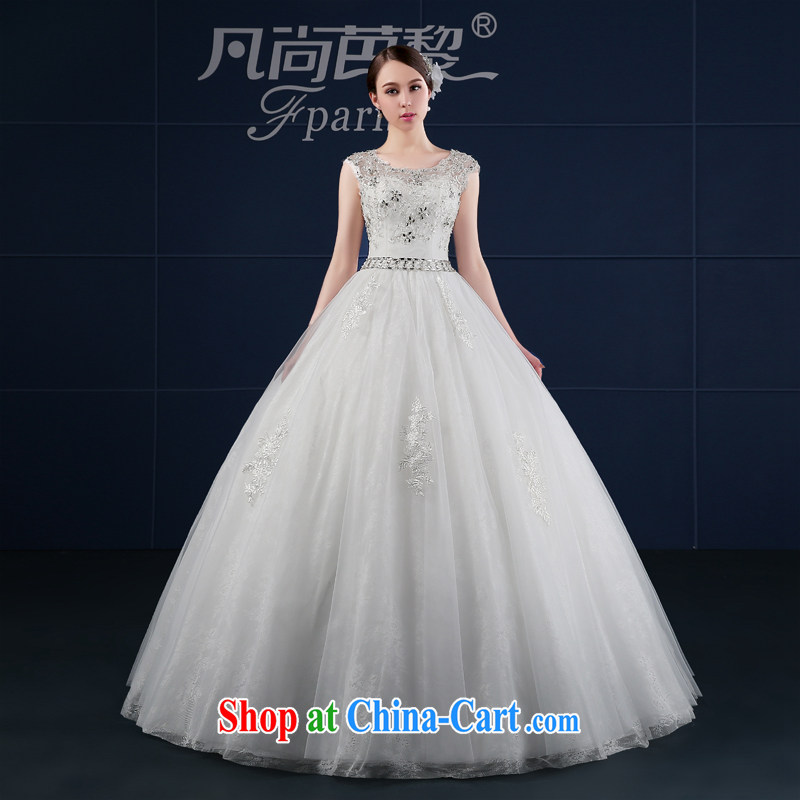 Where is Hip Hop Lai wedding dresses 2015 new spring and summer Korean version the code dual pack shoulder bridal wedding summer field shoulder drill white XXL