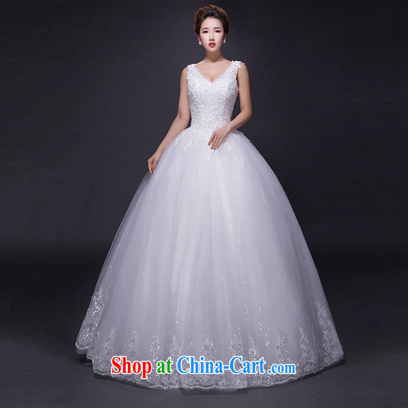 Hi Ka-hi wedding dresses 2015 new spring and summer and elegant antique and collar lace shaggy dress flare with straps wedding JX 19 ivory left size tailored