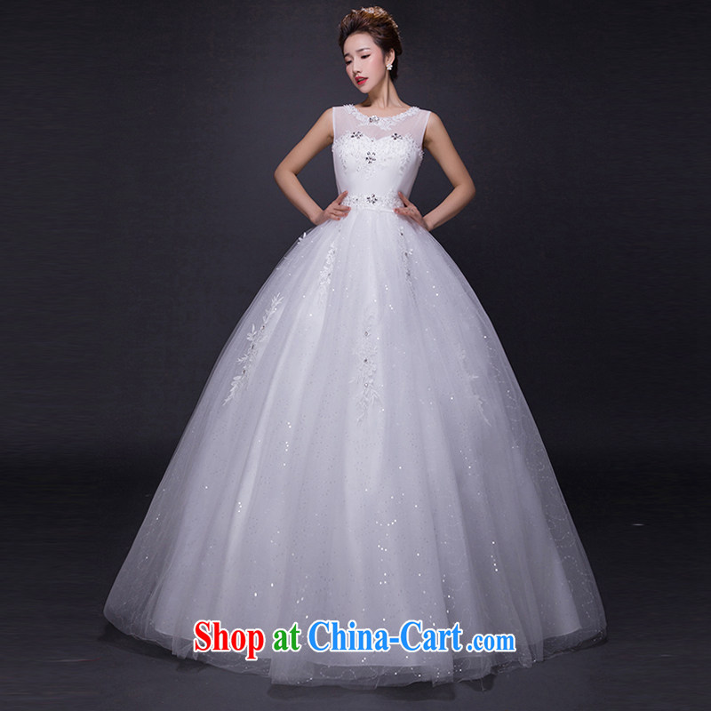 Hi Ka-hi wedding dresses 2015 new spring and summer and elegant antique and collar lace shaggy dress flare with straps wedding JX 21 ivory left size tailored