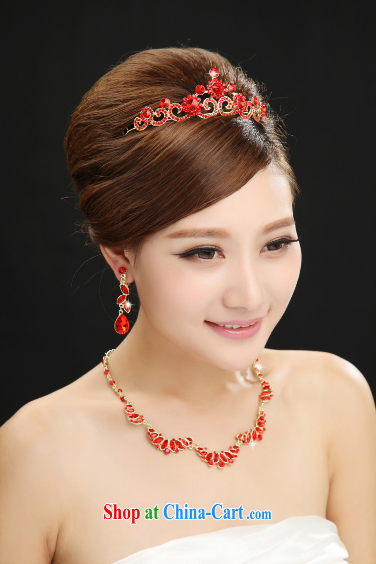 7 color 7 tone bridal head-dress 3 piece wedding accessories red water drilling wedding dress bows dress, SP 001 necklaces and ear pendants are code pictures, price, brand platters! Elections are good character, the national distribution, so why buy now enjoy more preferential! Health