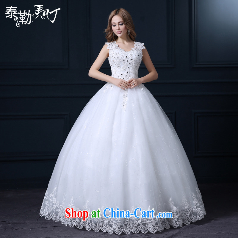 Martin Taylor 2015 bridal wedding Korean fashion spring and summer white with large code marriage wedding shoulders wedding canopy skirts white XL