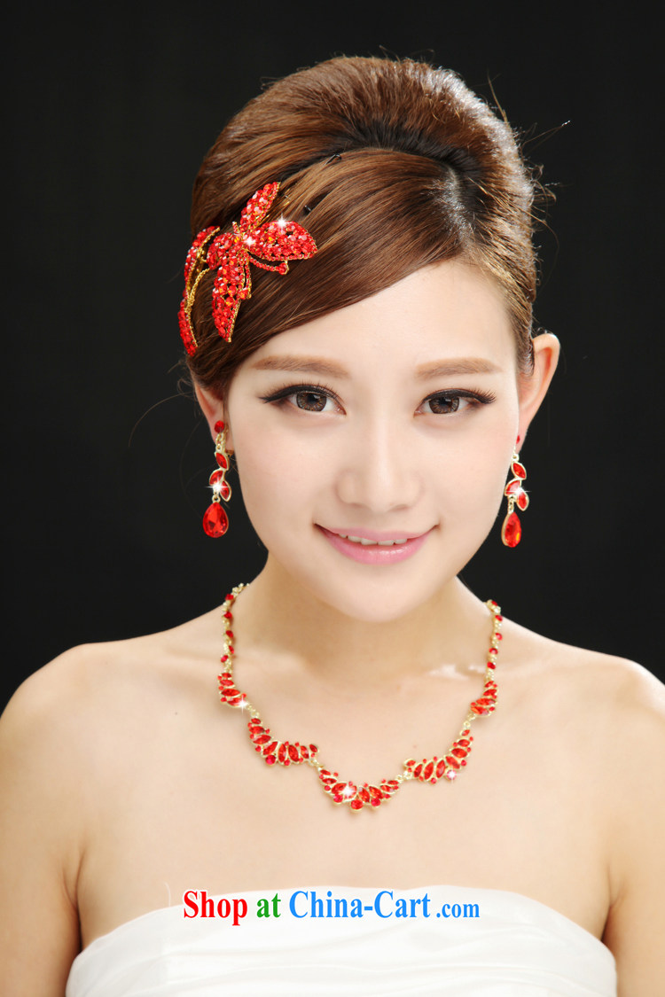 7 color 7 tone 2015 stylish new Korean brides and beautiful petals luxury parquet drill marriage wedding accessories PS 006 necklace ear fall are code pictures, price, brand platters! Elections are good character, the national distribution, so why buy now enjoy more preferential! Health