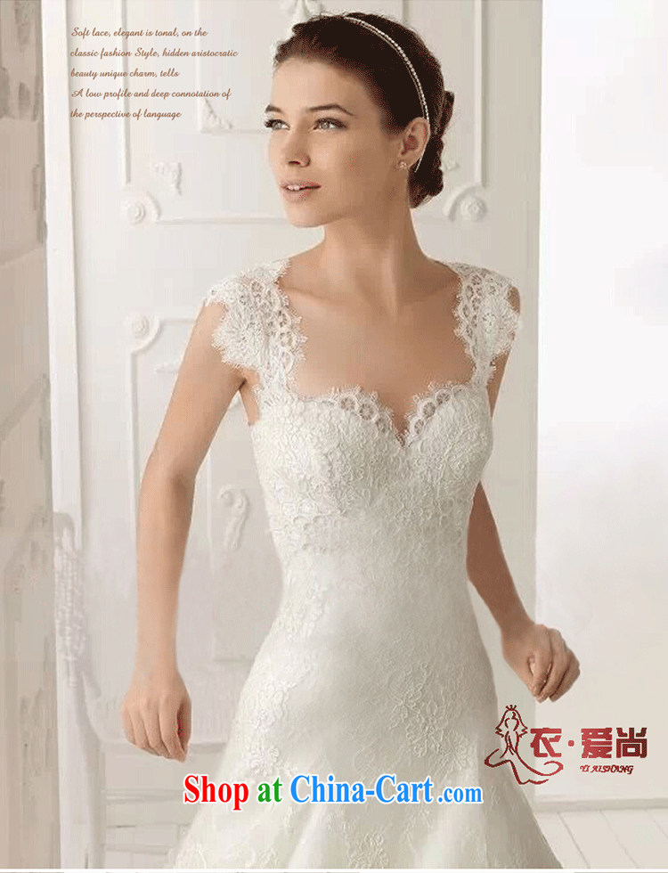 Yi love is still new summer 2015, wedding dresses Korean wiped chest ...
