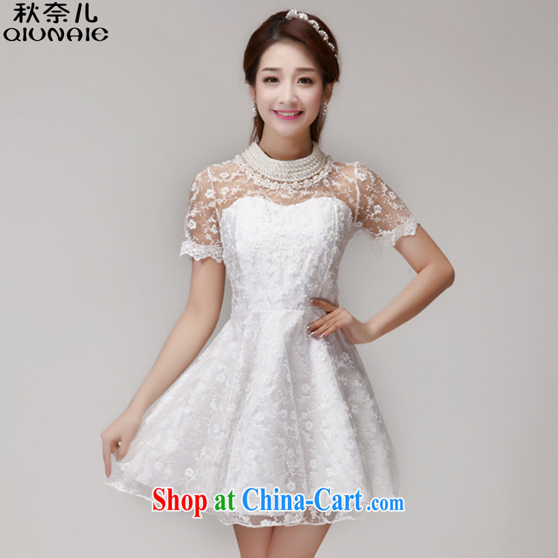 Autumn of 2015 Children Summer new lace biological air quality Princess dress dresses women 280 white are code