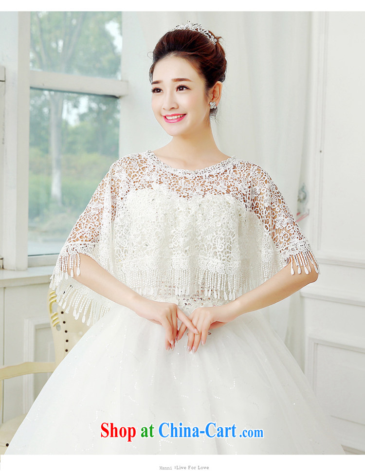 Syria Time 2015 new marriages lace shawl, Japan, and South Korea wedding accessories summer white thin, wood drilling bridesmaid dress, a small jacket white pictures, price, brand platters! Elections are good character, the national distribution, so why buy now enjoy more preferential! Health