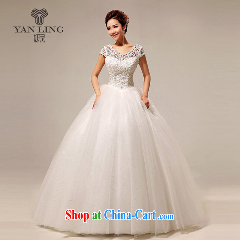 Her spirit 2015 new Korean wedding dresses the Field shoulder sweet lace Princess sexy with wedding HS S 290
