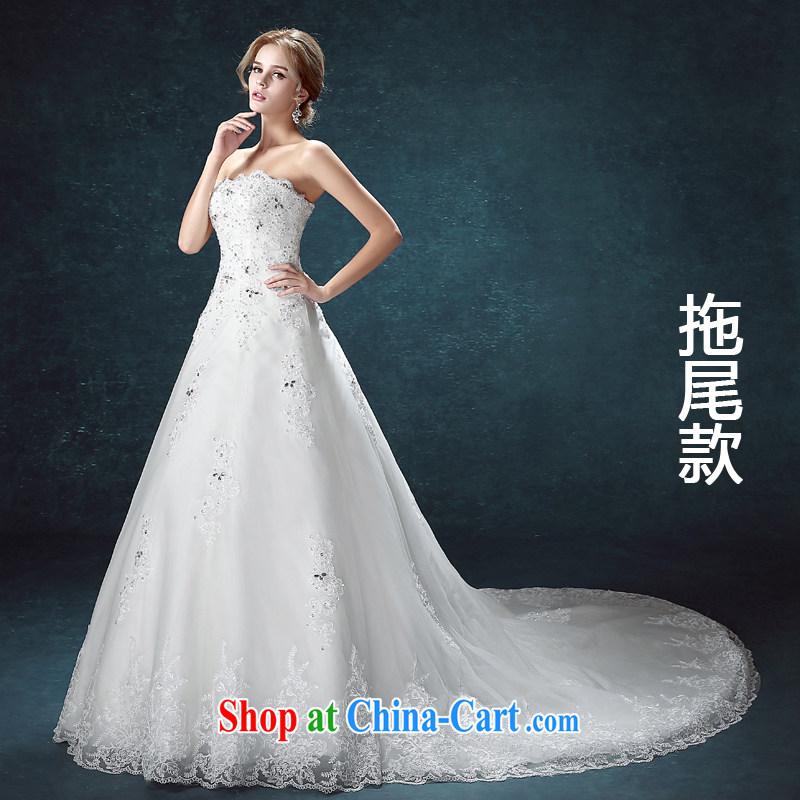 Kou Connie A Field dress the bridal suite 2015 new summer wiped his chest manually the Pearl River Delta (PRD upscale wedding lace graphics slender tail bridal wedding dress tail, tailored final 7 day