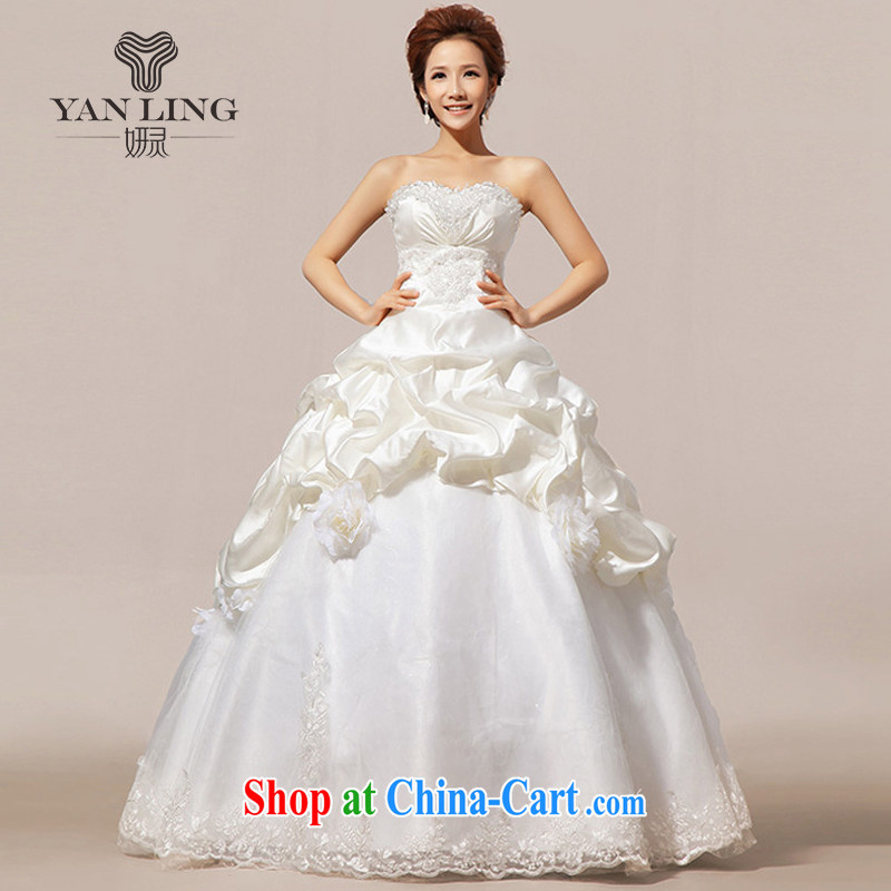 Her spirit 2015 Korean Princess vera wang Wang Wei style wedding L