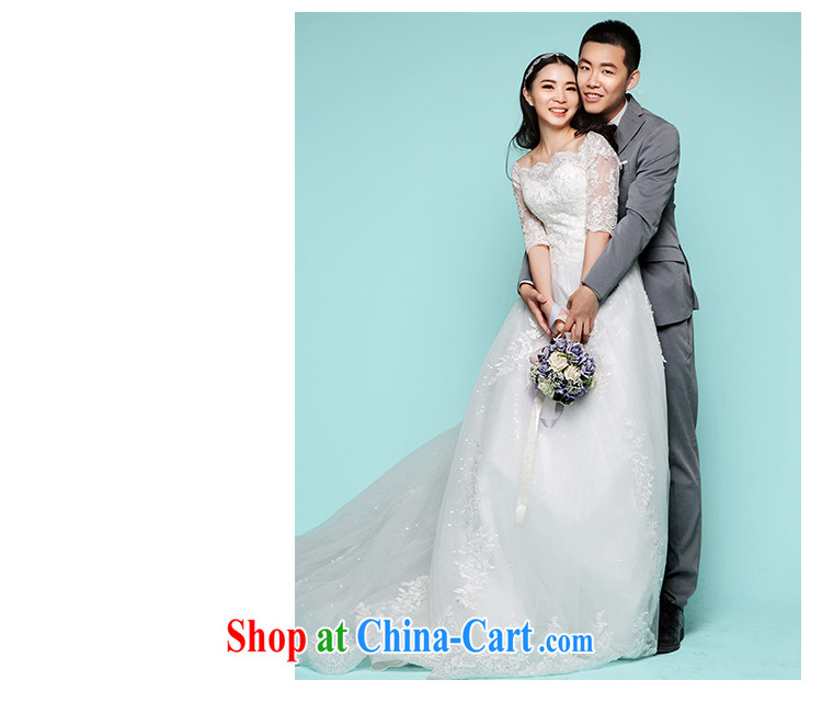On the wedding dresses summer 2015 new spirit Creek Korean lace long-tail field shoulder wedding beauty with M pictures, price, brand platters! Elections are good character, the national distribution, so why buy now enjoy more preferential! Health
